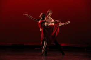 "Stephanie Maiorano and Maxim Chernychev in San Diego Ballet's ""Don Juan."""